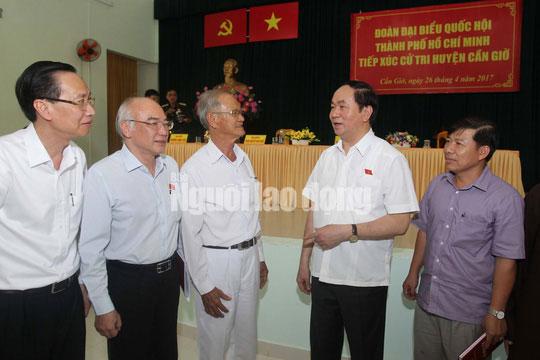 Những bức ảnh quý về Chủ tịch nước Trần Đại Quang - 16