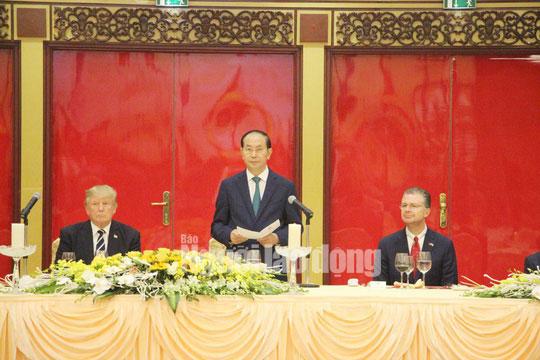 Những bức ảnh quý về Chủ tịch nước Trần Đại Quang - 2