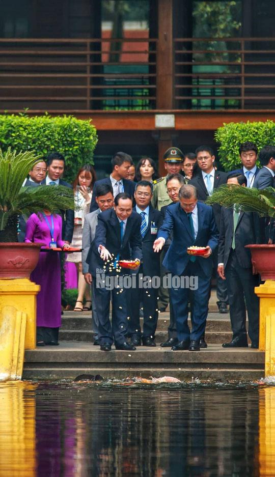Những bức ảnh quý về Chủ tịch nước Trần Đại Quang - 6