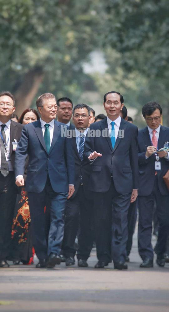 Những bức ảnh quý về Chủ tịch nước Trần Đại Quang - 7