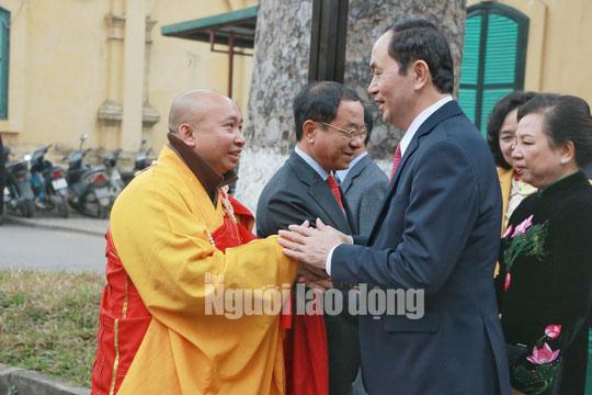 Những bức ảnh quý về Chủ tịch nước Trần Đại Quang - 8