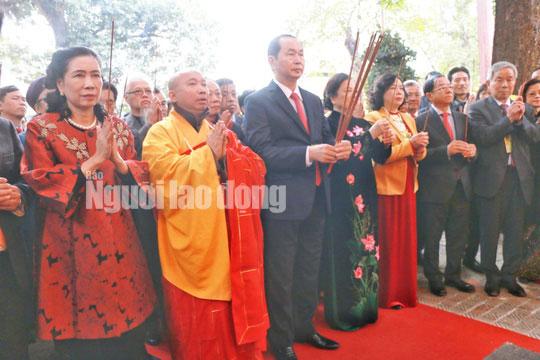 Những bức ảnh quý về Chủ tịch nước Trần Đại Quang - 9