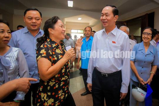 Những bức ảnh quý về Chủ tịch nước Trần Đại Quang - 13