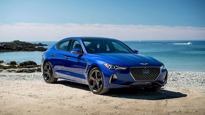 Sedan hạng sang Genesis công bố giá từ 802 triệu đồng - 1