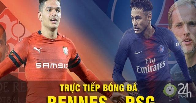 Chi tiết Rennes - PSG: Neymar khởi xướng, bàn thắng thứ 3 (KT)