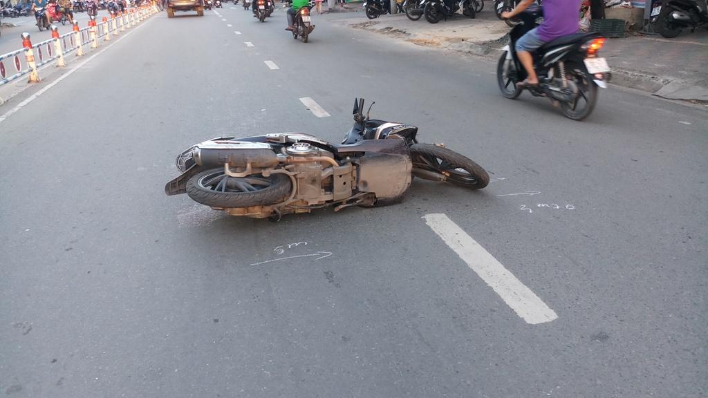 Truy tìm cô gái liên quan đến tai nạn chết người ở Sài Gòn - 1