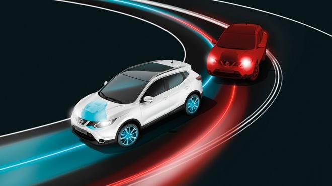 Hệ thống kiểm soát khung gầm chủ động trên Nissan X-trail V-series: Lái nhẹ nhàng, ngồi thoải mái - 4