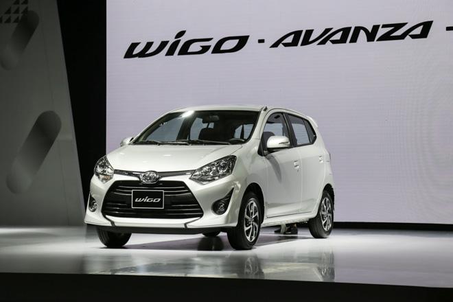 Giá xe Toyota cập nhật tháng 10/2018: Hatchback Wigo giá rẻ từ 345 triệu đồng - 1