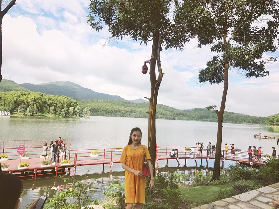 Hồ Yên Trung - điểm du lịch mới ngỡ trời Tây nơi đất mỏ Quảng Ninh - 5