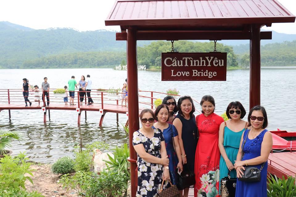 Hồ Yên Trung - điểm du lịch mới ngỡ trời Tây nơi đất mỏ Quảng Ninh - 8