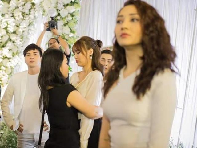 Hồ Quang Hiếu lên tiếng về 'hành động lạ' với Bảo Anh trong đám cưới Trường Giang