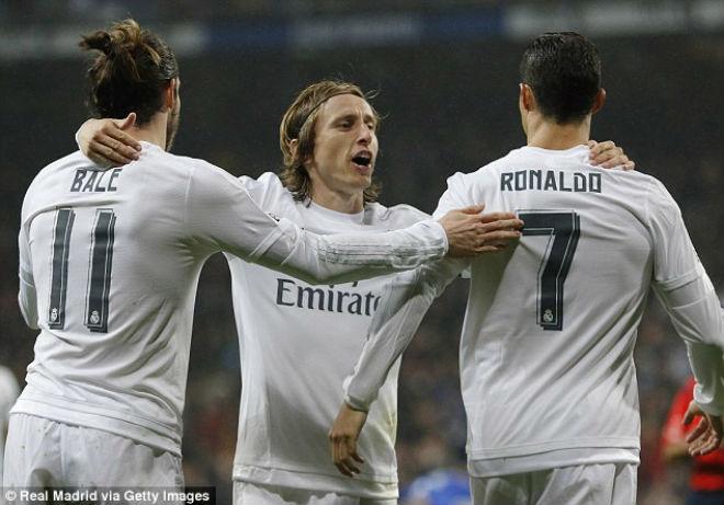 """Real đại loạn: Bale – Modric lên đời, triệt hạ """"tàn dư"""" Ronaldo"""