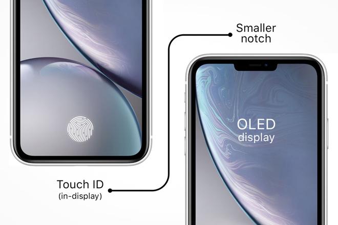 iPhone sẽ tích hợp Touch ID vào màn hình - 1