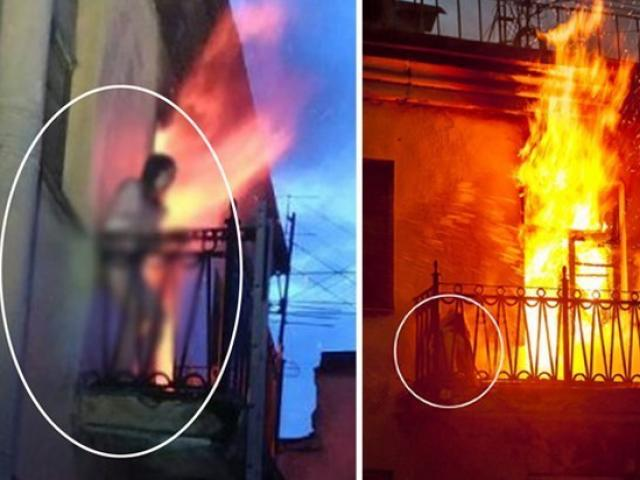 """Nga: """"Hỏa thần"""" gõ cửa khi đang tắm, người phụ nữ khỏa thân lao vút ra ban công"""