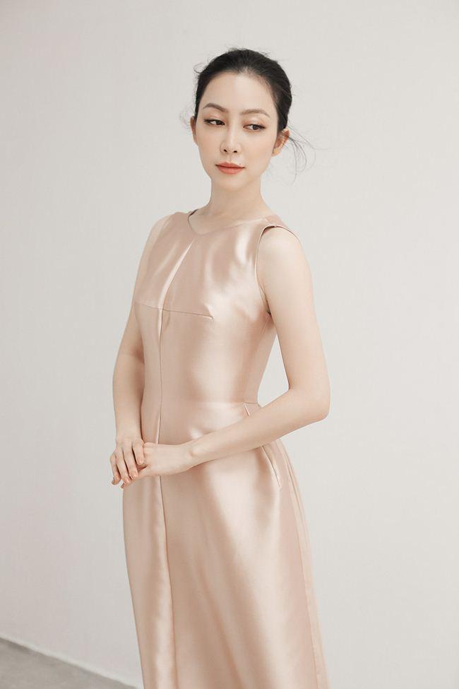 Linh Nga khoe vẻ đẹp Á đông với loạt trang phục đẹp tựa cánh hoa tàn - 3