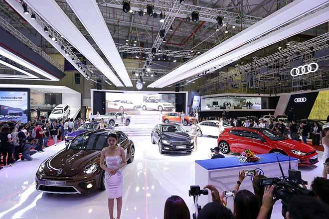 Triển lãm ô tô - Vietnam Motor Show 2019 chính thức khởi động - 4