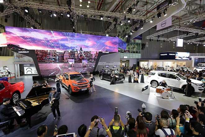 Triển lãm ô tô - Vietnam Motor Show 2019 chính thức khởi động - 9
