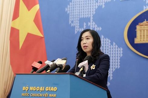 Việt Nam lên tiếng việc Trung Quốc tập trận và thử tên lửa gần Trường Sa - 1