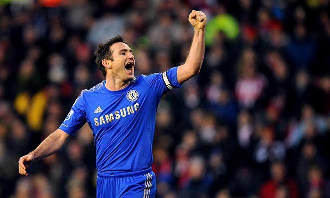 Lampard có một sự nghiệp lừng lẫy 13 năm tại Chelsea