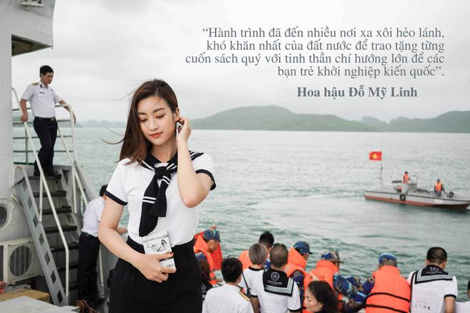 """Những câu nói truyền cảm hứng của sao Việt trong """"Hành trình từ trái tim"""" vùng biển đảo - 4"""