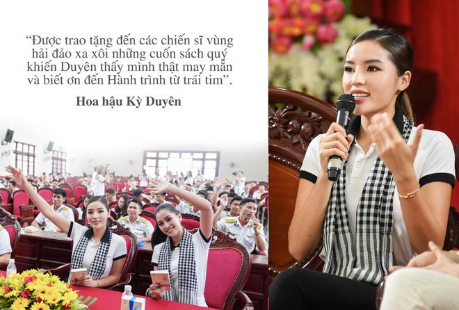 """Những câu nói truyền cảm hứng của sao Việt trong """"Hành trình từ trái tim"""" vùng biển đảo - 7"""