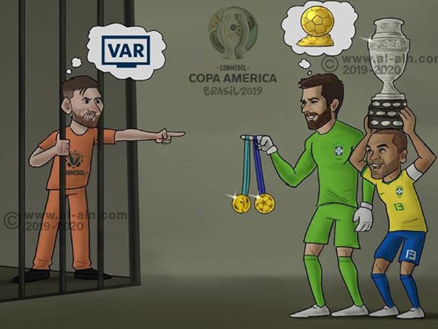 """Nỗi """"ấm ức"""" của Messi đang trở thành chủ đề cho dân tình bình luận"""