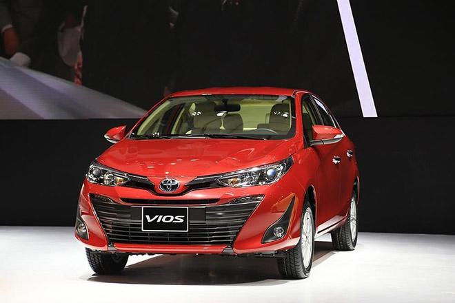 Top 10 xe ô tô có doanh số cao nhất tháng 06/2019, Toyota Vios vẫn giữ vững ngôi vương - 1