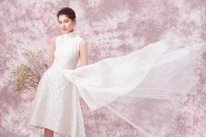 Á hậu Thùy Dung diện váy trễ vai mừng tuổi 23 - 12