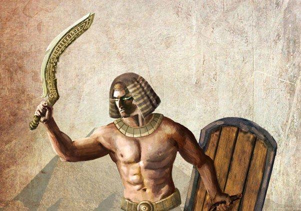 Sức mạnh thanh kiếm cong huyền thoại của đế chế Ai Cập cổ đại - 1