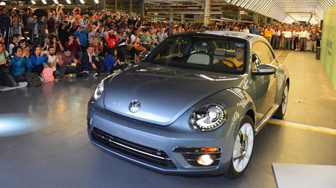 Nói lời tạm biệt với Beetle - bọ cánh cứng cuối cùng của Volkswagen - 4