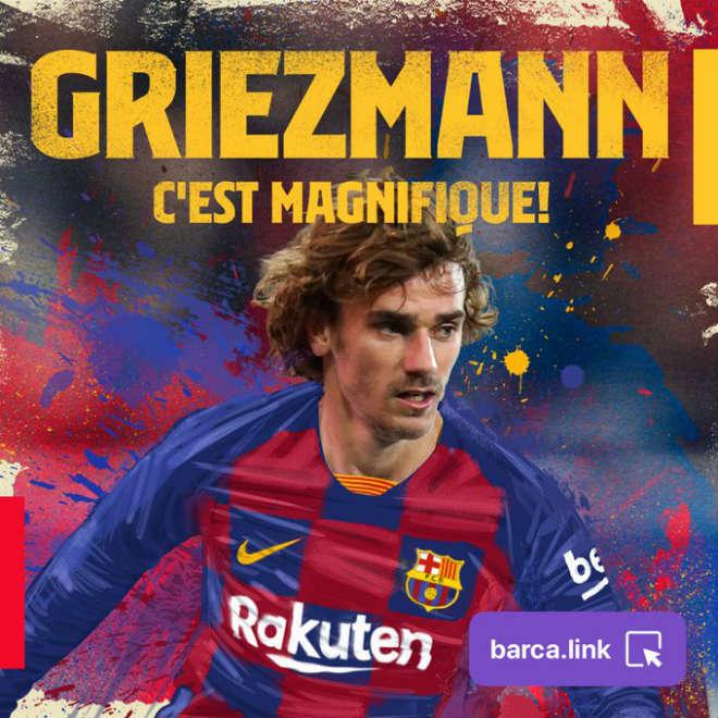 Griezmann chính thức về Barcelona: Giá 120 triệu euro, mơ cùng Messi xưng bá