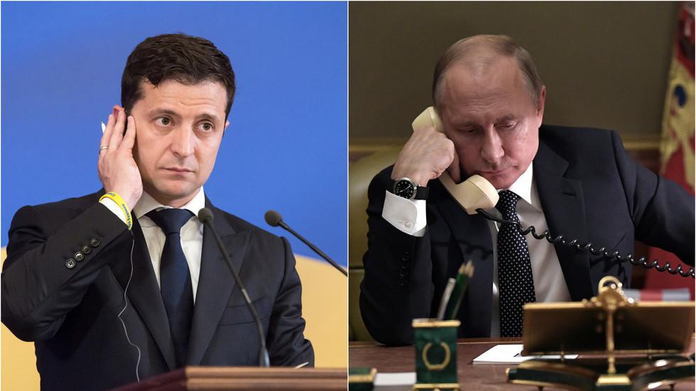 Ông Putin phật ý điều gì với tân Tổng thống Ukraine trong cuộc điện đàm đầu tiên? - 1