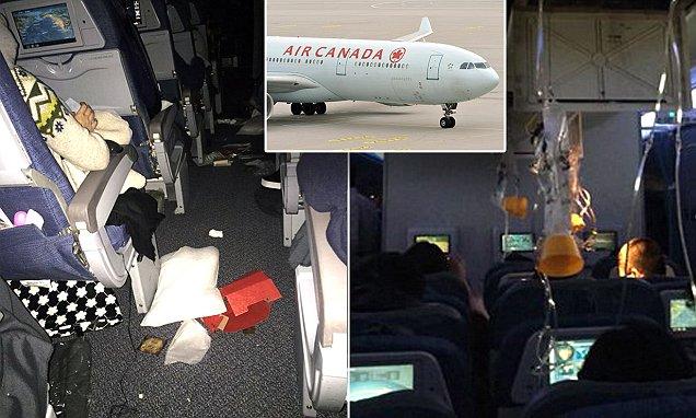 Kinh hoàng máy bay Canada chở 284 người bị cuốn vào lốc xoáy, hàng chục người bị thương - 1
