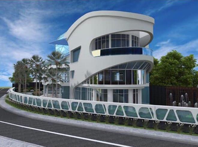 Hoa hậu quê Vũng Tàu khoe 'lâu đài' hơn 100 tỷ bạn trai đại gia xây tặng - 2