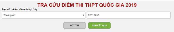 Đã có điểm thi, mời độc giả tra cứu điểm thi THPT Quốc gia 2019 trên 24H.COM.VN - 2