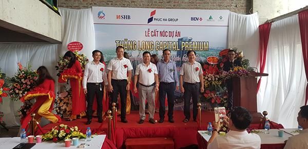 Tưng bừng lễ Cất nóc dự án Thăng Long Capital Premium tháng 07/2019 - 1