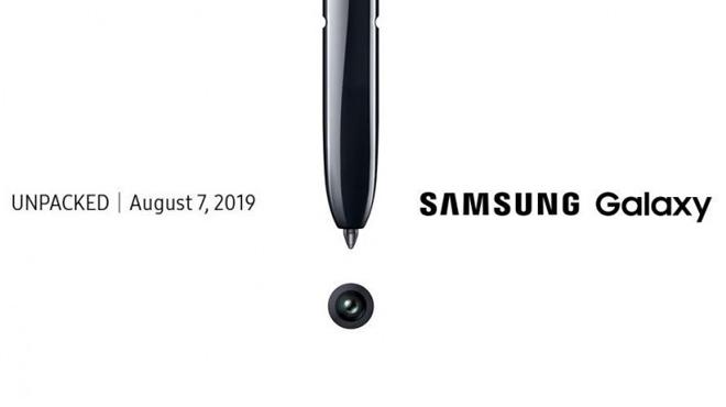 """HOT: Galaxy Note 10 sẽ được """"lên kệ"""" ngày 23/08 - 1"""