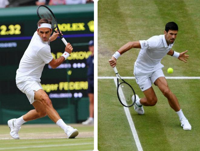 """Federer - Djokovic: 5 set siêu kinh điển, 3 màn """"đấu súng"""" đón nhà vua (Chung kết Wimbledon) - 1"""