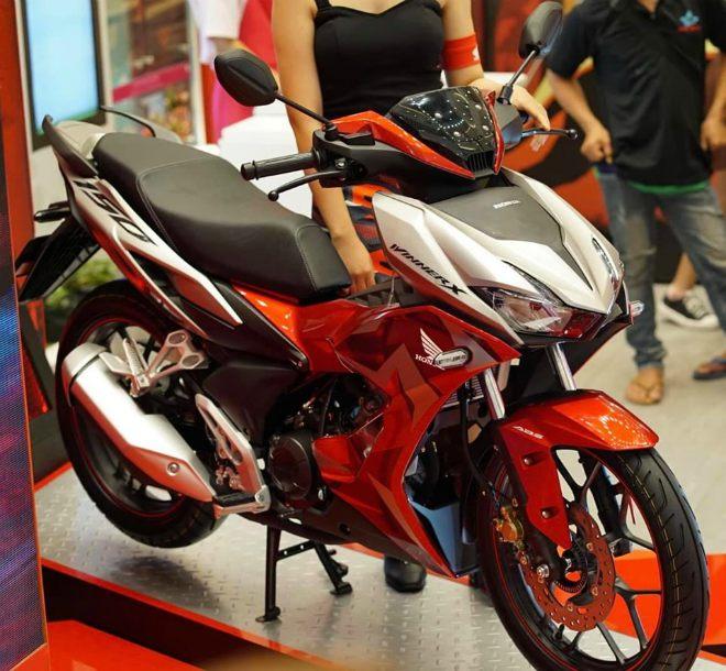 Chi tiết 6 màu, bảng giá, thông số xe côn Honda Winner X - 12