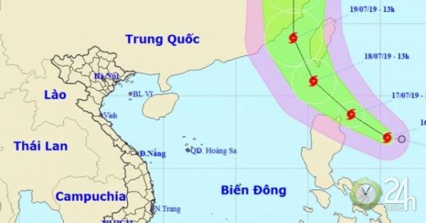 Áp thấp mạnh lên thành bão, hướng về phía đông bắc Biển Đông - Tin tức 24h