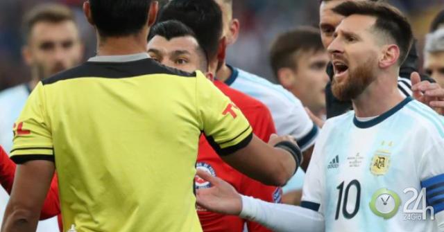 Messi xin giảm thẻ đỏ Copa America thành thẻ vàng: Dễ nhận án nặng hơn