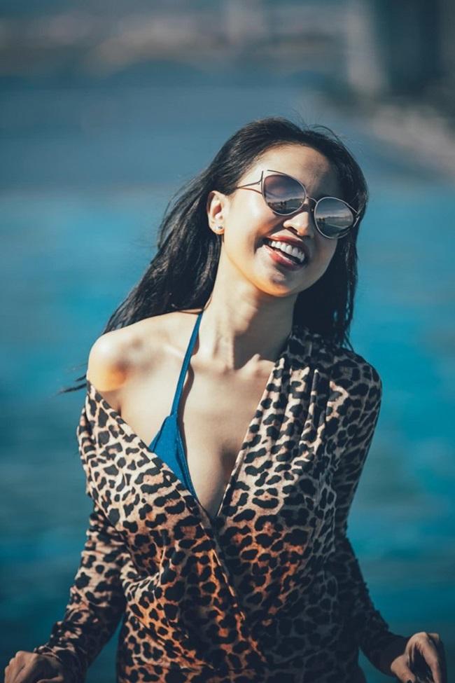 Sau khi chỉnh sửa vòng 1, Thanh Vân tự tin và ngày càng sexy hơn.