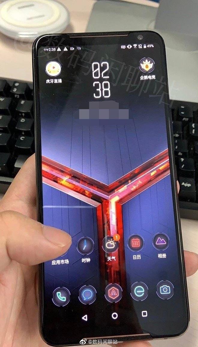 Đây chính là cái nhìn đầu tiên của siêu phẩm chơi game ROG Phone 2? - 1