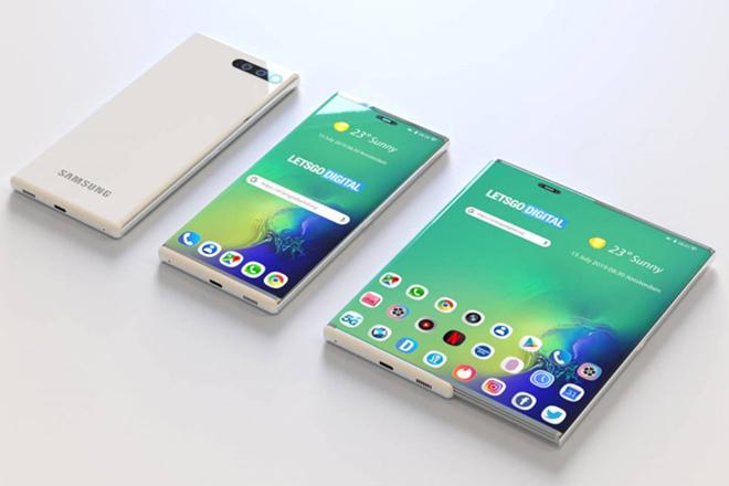 Samsung âm thầm phát triển smartphone dạng trượt lạ lẫm - 1