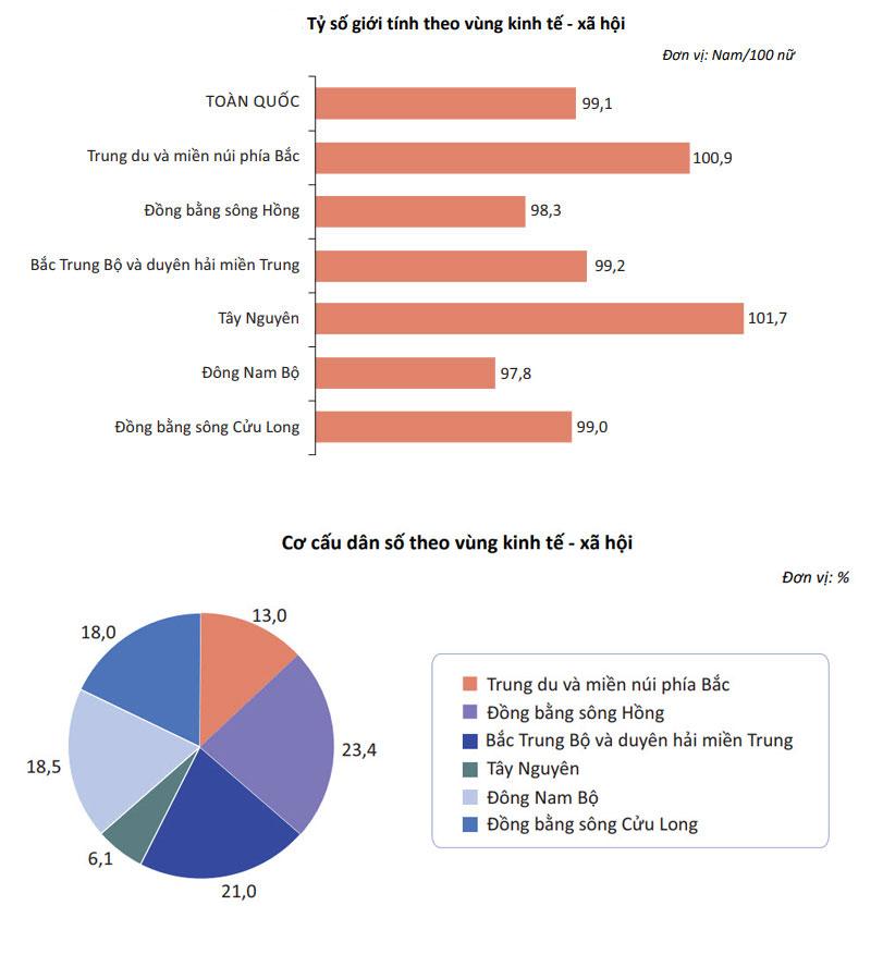 Info toàn cảnh dân số Việt Nam mới nhất: 2 vùng có đàn ông đông hơn phụ nữ - 4