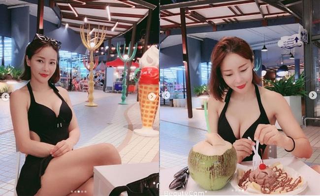 Mina từng là vũ công nhảy nền cho J.Y Park và Park Ji Yoon. Tên tuổi của người đẹp sinh năm 1972 chỉ thực sự nổi lên từ màn trình diễn gợi cảm trên khán đài Hàn Quốc tại kỳ World Cup năm 2002.