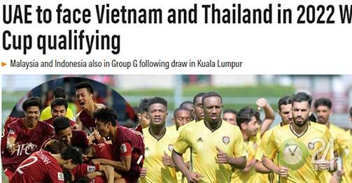 Báo châu Á sốc với bảng đấu Đông Nam Á vòng loại World Cup: UAE chú ý ĐT Việt Nam