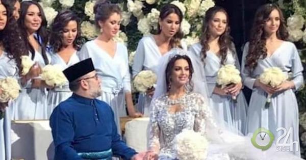 Cựu vương Malaysia ly hôn người đẹp Nga ngay sau khi có con trai?-Thế giới