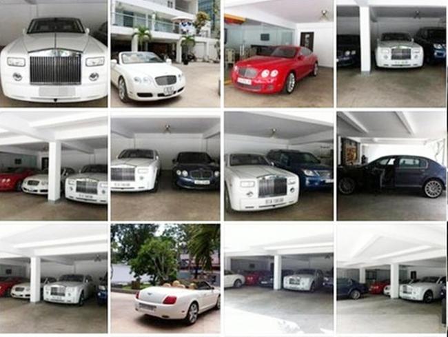 Trong bộ sưu tập xe của Phan Thành phải kể tới chiếc BMW i8 màu xám khoảng 8 tỷ đồng, Lamborghini Huracan màu xanh lá trị giá 16 tỷ, Ferrari 458 màu đỏ trị giá 12 tỷ, Bentley Continental màu cam trị giá 10 tỷ… Bên cạnh đó còn hàng chục siêu xe khác với tổng trị giá cán mốc hàng trăm tỷ đồng.