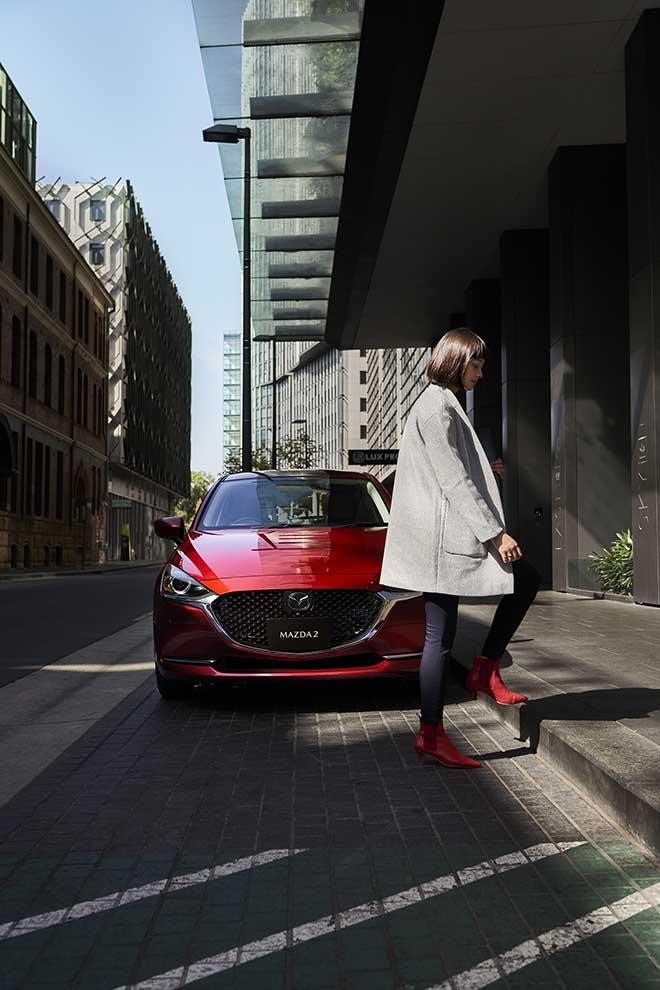Lộ diện hình ảnh của Mazda2 phiên bản facelift 2019 - 10